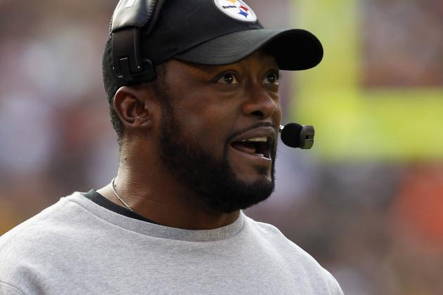 Tomlin Explains Handshake with Harbaugh
