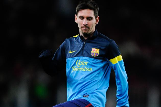 Line Ups: Messi Benched vs Benfica