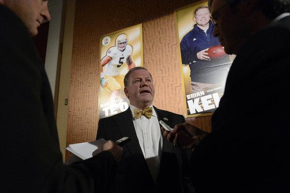 Notre Dame's Kelly, Alabama's Saban Confident If Staff Departs