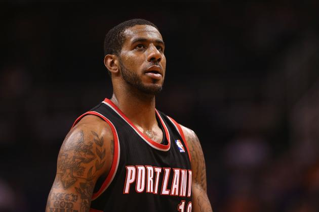 Blazers Coach Stotts Says Criticism of LaMarcus Aldridge Is Undeserved