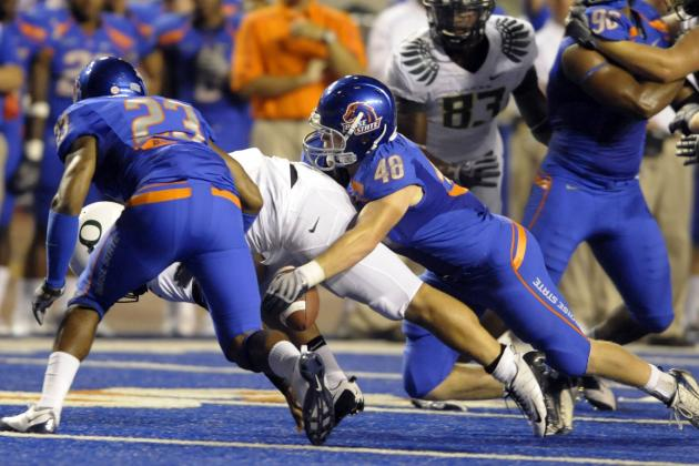 Boise State Football Players Garner Mountain West Honors