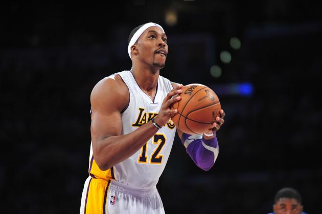 Dwight Howard: Superstar Must Make Free Throws to Help Lakers Snap Slump