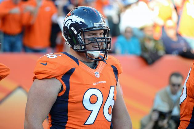 Broncos May Use Mitch Unrein More on Offense