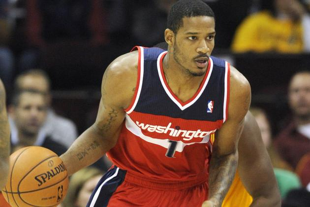 Wizards' Trevor Ariza Could Be out Three Weeks with Calf Strain