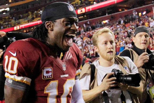 Robert Griffin III to Have Jersey, Shoes in HOF