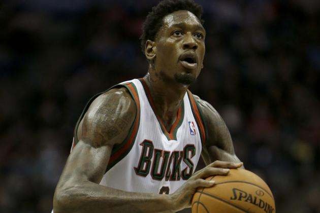 Larry Sanders Moves into the Starting Lineup Against the San Antonio Spurs