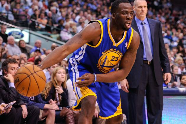 Golden State Warriors' Draymond Green Impressing with Toughness, Smarts