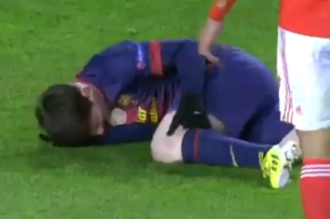 Lionel Messi Suffers Knee Injury in Meaningless Match