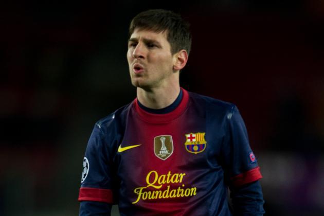 Barcelona 0-0 Benfica: Messi Hurt