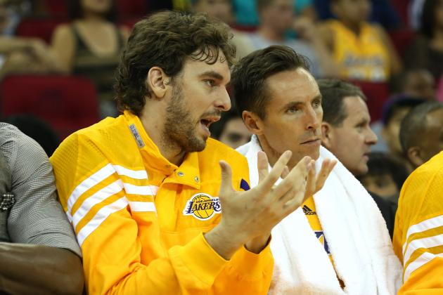 Lakers Should Honor Steve Nash's Wish to Play with Pau Gasol