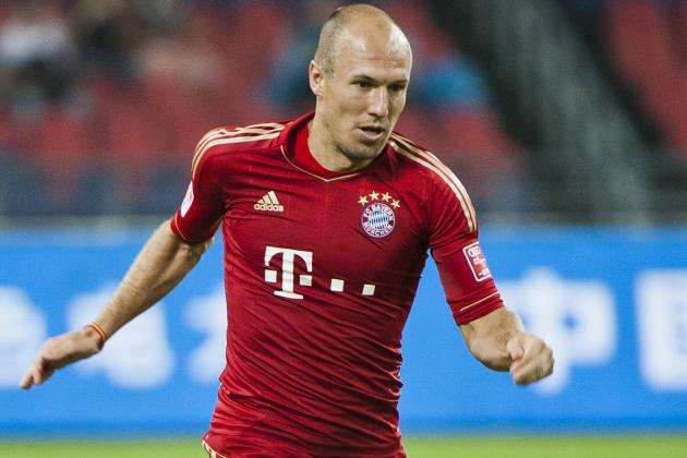 Another Injury Setback for Bayern's Robben