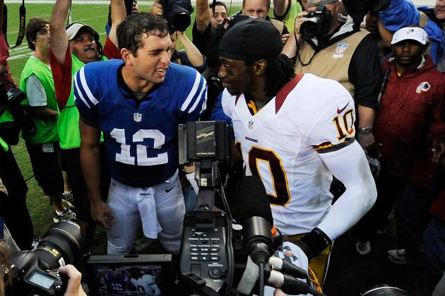 RGIII, Andrew Luck or Russell Wilson: Who's the Best Rookie QB in the NFL?