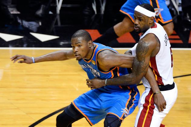 Kevin Durant Proving That NBA Fans Are Too Quick Anointing LeBron James MVP