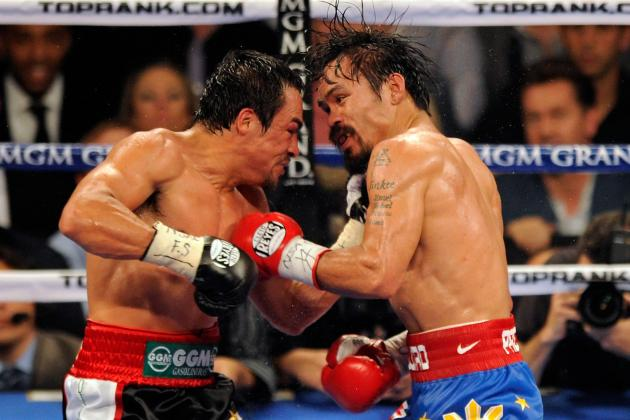 Pacquiao vs. Marquez Fight: How Previous Fights Will Factor for Both Fighters