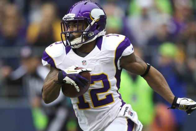 Vikings Place Percy Harvin on Season-Ending IR