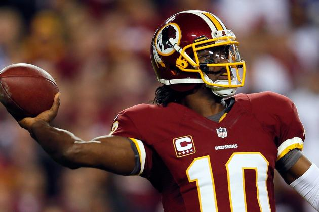 ROBERT GRIFFIN III HAS COME a LONG WAY SINCE HIGH SCHOOL