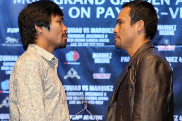 Pacquiao vs. Marquez Predictions: Dinamita Will Dominate Pac-Man Early