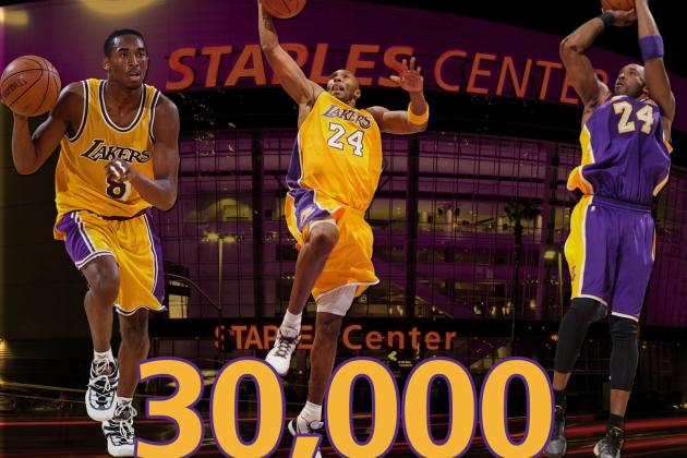 Kobe Becomes Youngest to 30K Points
