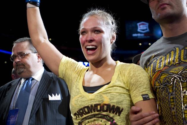 Cyborg Santos Says Rumors of Fight vs. Ronda Rousey Are False