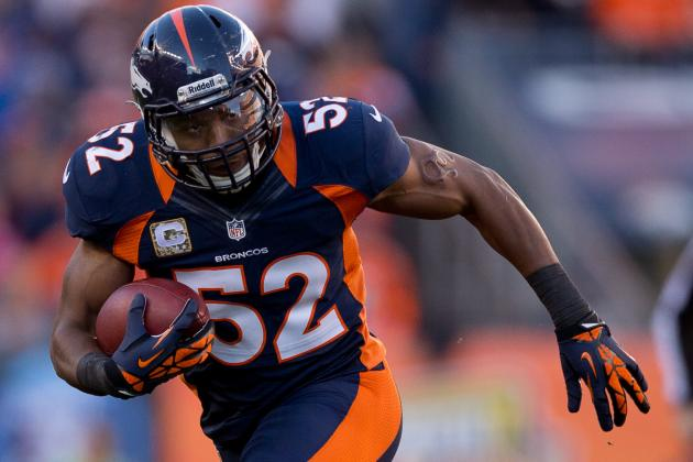 Woodyard out for TNF with Ankle Injury