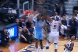 Faried's Emphatic Slam