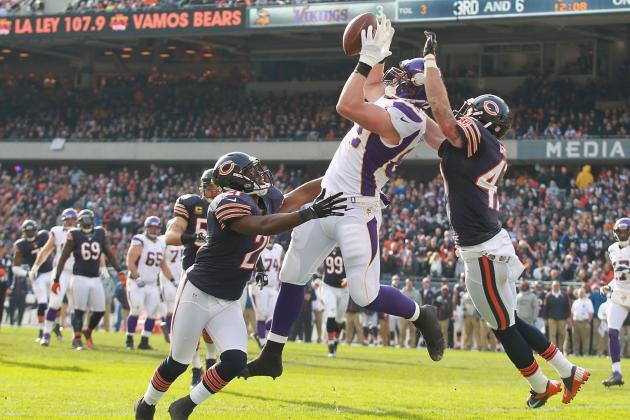 Fantasy Football: Can Kyle Rudolph Continue to Pick Up Percy Harvin's Slack?