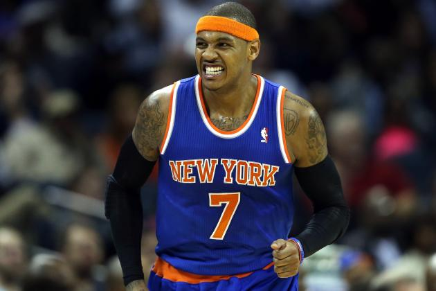 Carmelo Anthony 'in a Very Good Space'