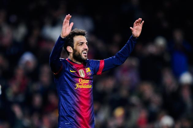 Cesc Fabregas: How Vilanova Has Made Him the Top Mid. in La Liga This Season