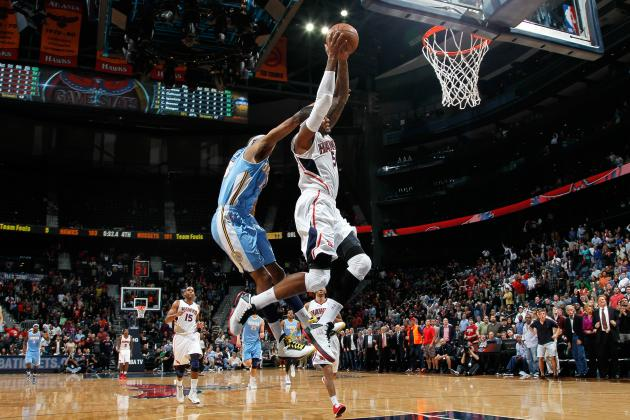 Josh Smith's Clutch Dunk Shows Up Iggy and the Nuggets