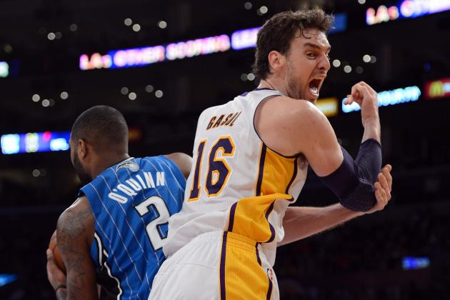 How Pau Gasol-Dwight Howard Pairing Highlights LA Lakers Roster Redundancy