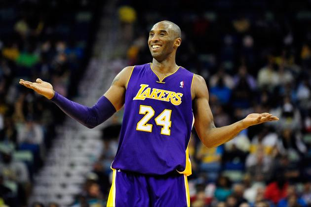 Kobe Bryant Wins NBA Player of the Night After Eclipsing 30,000-Point Barrier