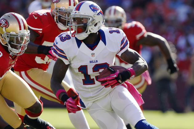 Bills' Stevie Johnson on Bad Weather Games: