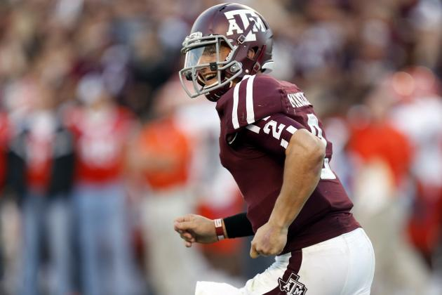 Johnny Manziel: Texas A&M QB Is a Stone Cold Lock to Win Heisman Trophy