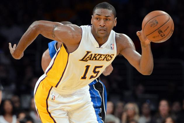 Metta World Peace Still Thinks the Lakers Can Win 72 Games