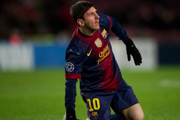 Barcelona's Lionel Messi Feared Worst After 'Bang' on Knee