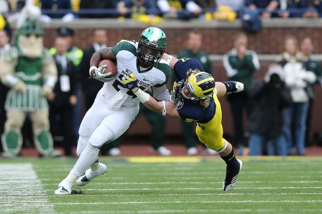 TCU Will Have Hands Full with Michigan State's Le'Veon Bell