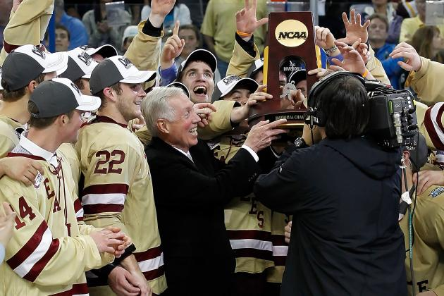 BC's Jerry York Poised for Career College Hockey Victory Record