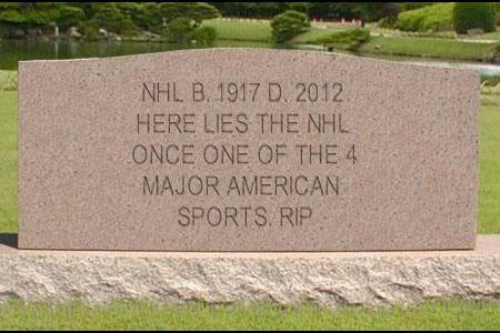 NHL Officially Removed from a Major Sport: How Greed Destroyed the NHL