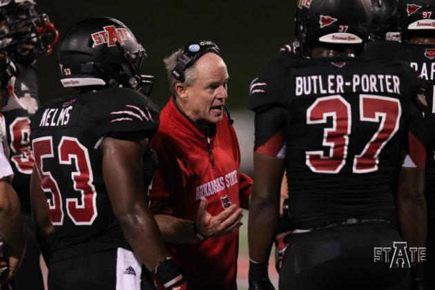 Arkansas State Names Interim Coach for Bowl Game