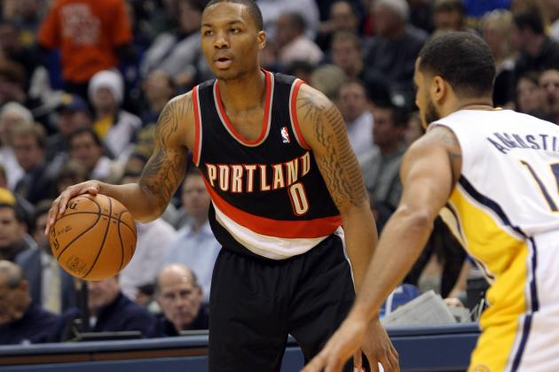 Lillard Becomes 3rd Blazer to Win an Rookie-of-the-Month
