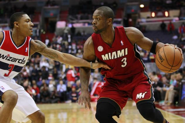 "Dwyane Wade to Bradley Beal: ""He Has No Reason to Be Down at All"""
