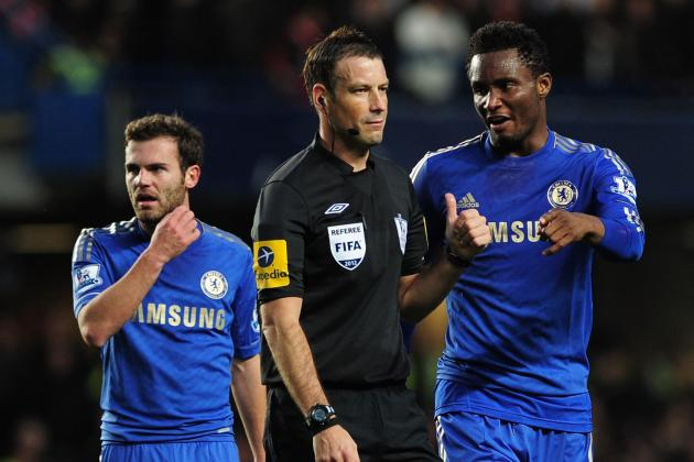 Chelsea Star John Obi Mikel Suspended 3 Matches for Incident with Referee