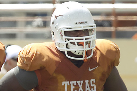 Texas Offensive Guard Trey Hopkins Fractures Leg, Is out for the Alamo Bowl