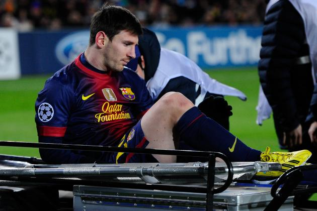 Lionel Messi Injury: Updates on Barcelona Star's Knee