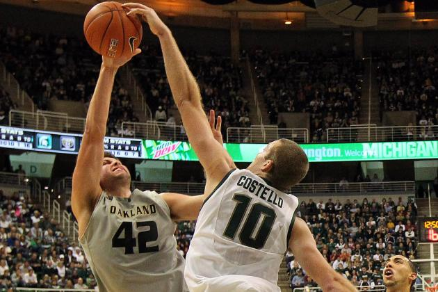 Michigan State's Matt Costello Could See Bigger Role as Defensive Specialist