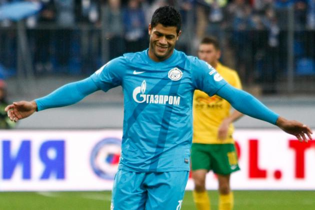 Hulk, Zenit St. Petersburg Appear to Be Heading for Ugly Breakup