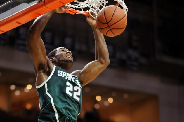 Branden Dawson's Work Ethic Wows Michigan State Coach Tom Izzo