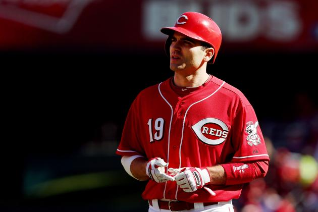 Cincinnati Reds All-Star First Baseman Joey Votto Wins Tip O'Neill Award