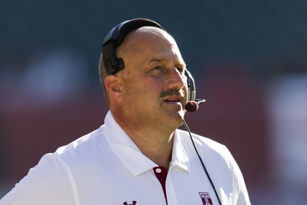 New Coach Steve Addazio Calls BC Football His 'Dream Job'