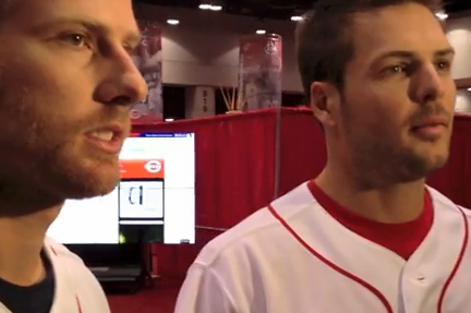 Zack Cozart, Chris Heisey Talk Offseason and Redsfest